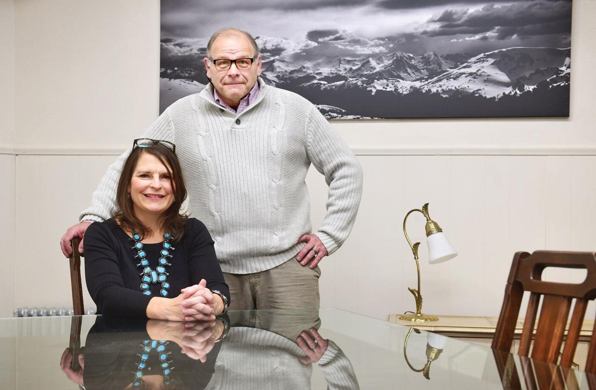 Ed Dreikorn and Leah Spangler
