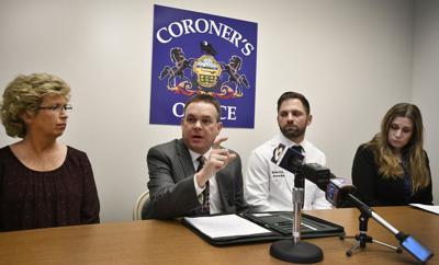 Cambria County Coroner Press Conference