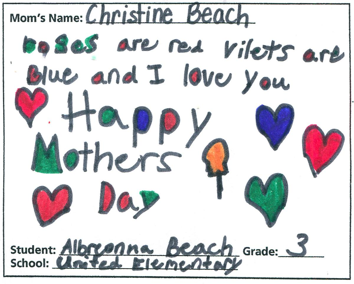 UNITED ELEMENTARY   3rd Grade   Albreonna Beach.JPG