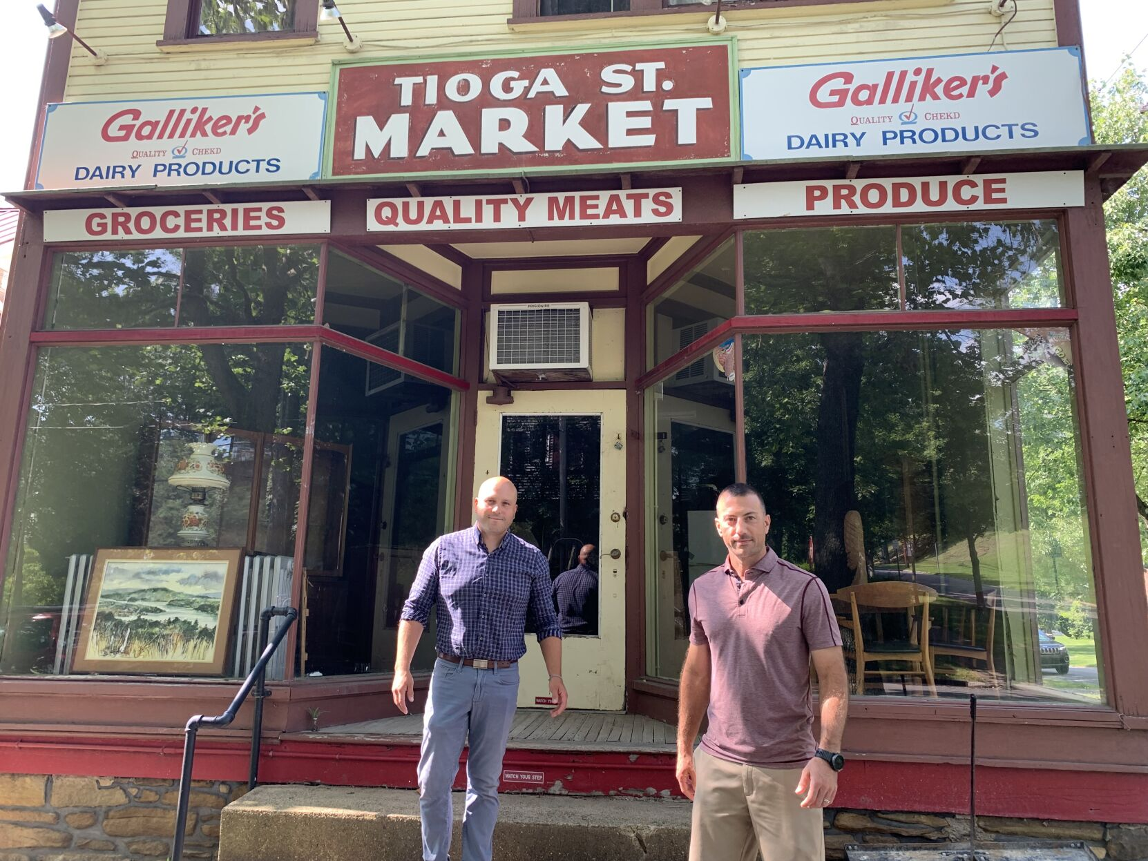 'Part of Johnstown history': Westmont residents reviving Tioga Street Market, with plans to beautify corner around local landmark