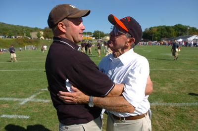 A Surprising Family Legacy Molecular >> Mike Mastovich Page Turner Homer Center Coach Builds On Father S