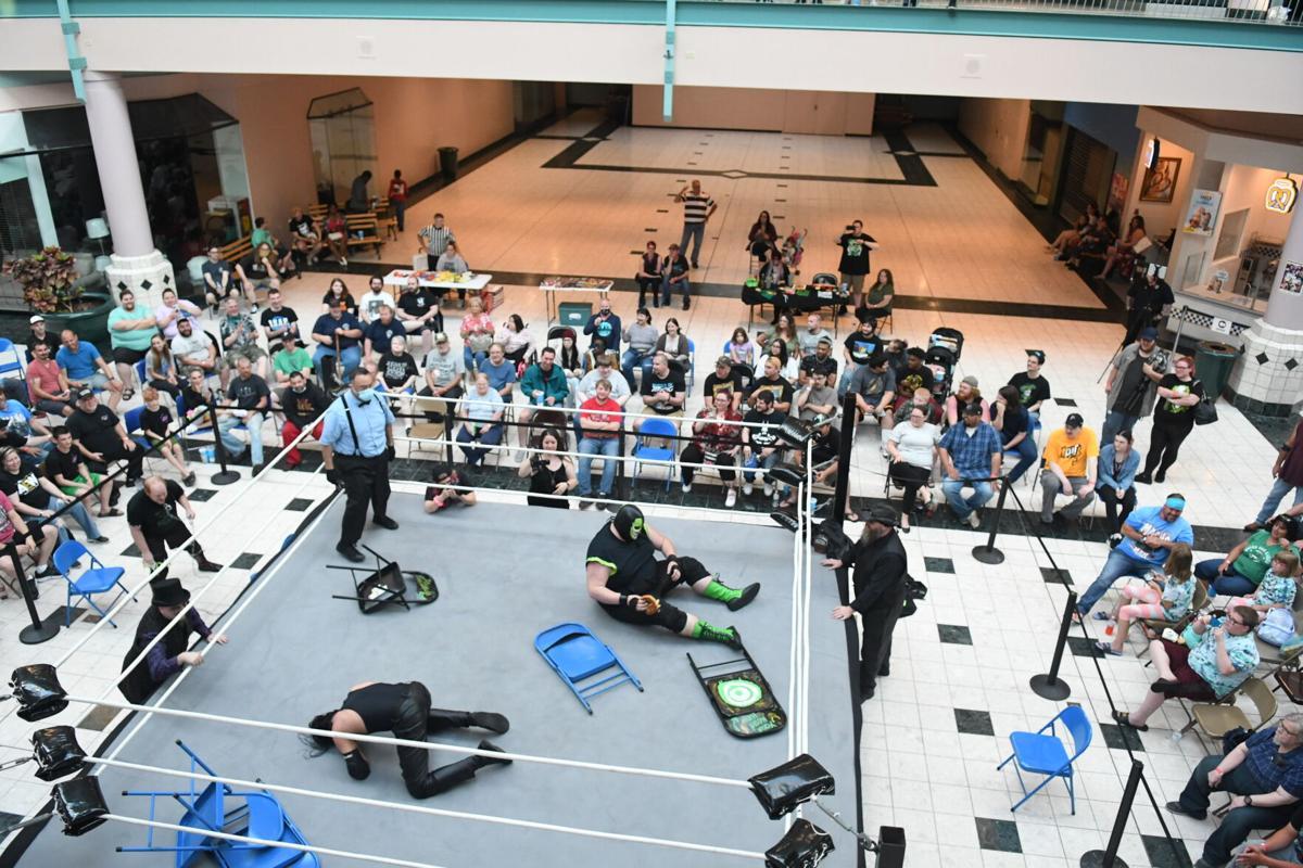 AON Hosts Mall Brawl
