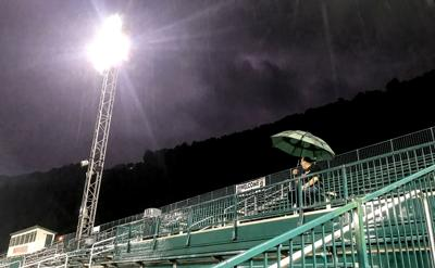 Sargent's Stadium weather delay – Aug. 7, 2019