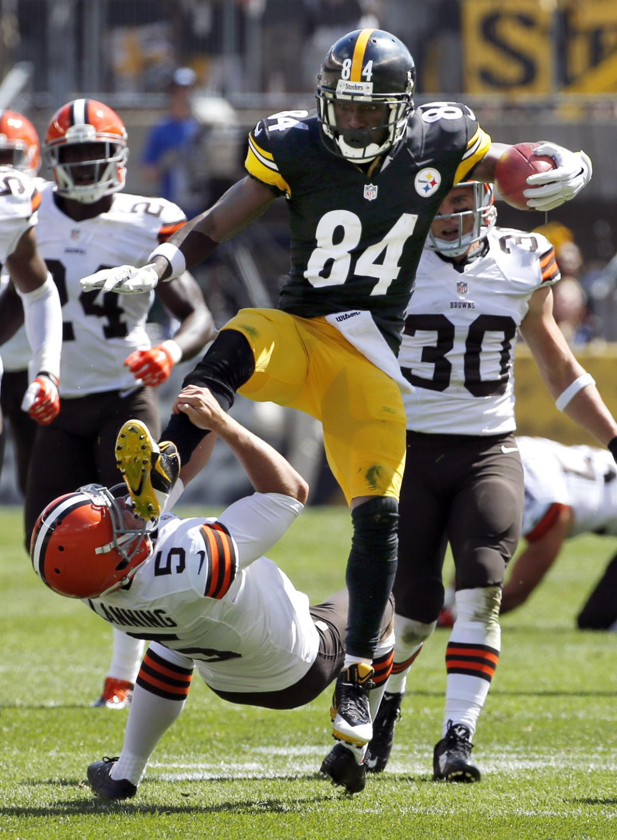 Alive And Kicking Steelers Survive Browns Huge Comeback Bid