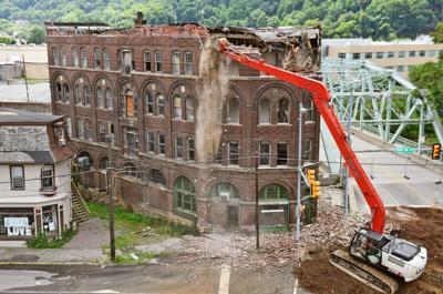Conrad Building Demolition Begins
