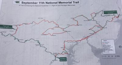 9/11 trail path
