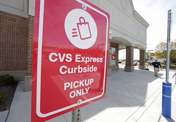 drugstore chain cvs pushes convenience with curbside pickups news