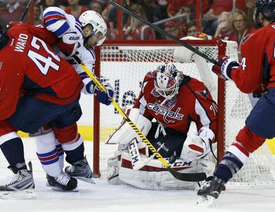 Do my part   Holtby s shutout lifts Caps over Rangers 1-0  687534418