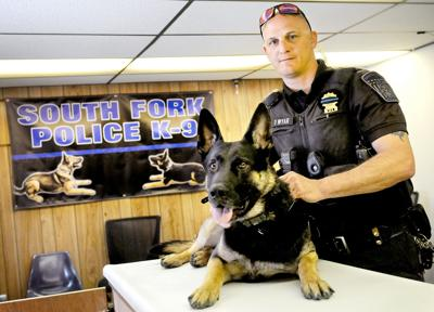 Front Lines | South Fork police dog is chief's 'right-hand man'