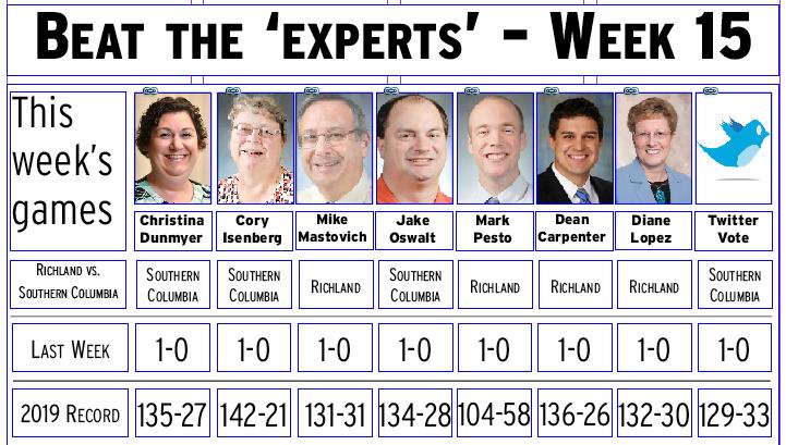 Week 15 picks