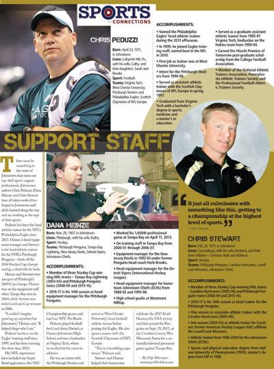 Sports Connections support staff