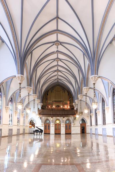Grand Halle after restoration