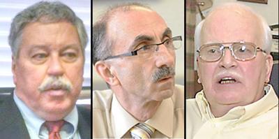 Frank Janakovic, Peter Vizza, Jack Williams