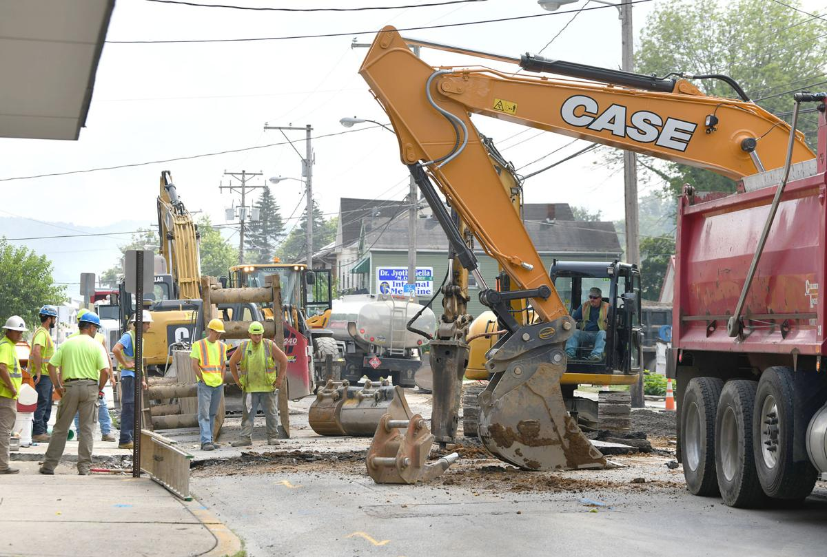 Johnstown sewer project