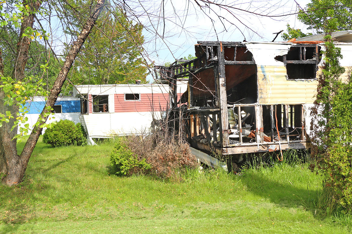 WATCH VIDEO | Arson-plagued Somerset mobile home park