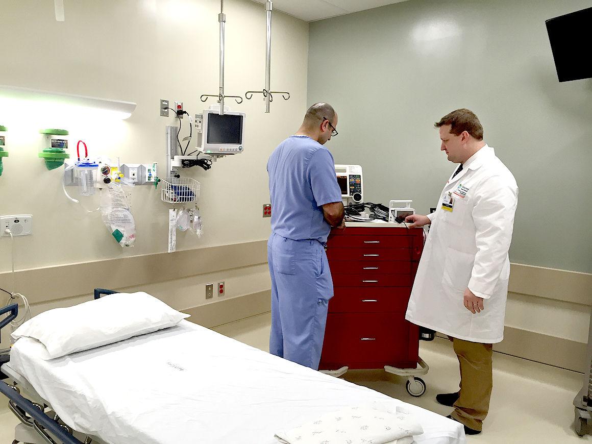 Somerset Hospital showcases new ER   Local News   tribdem.com