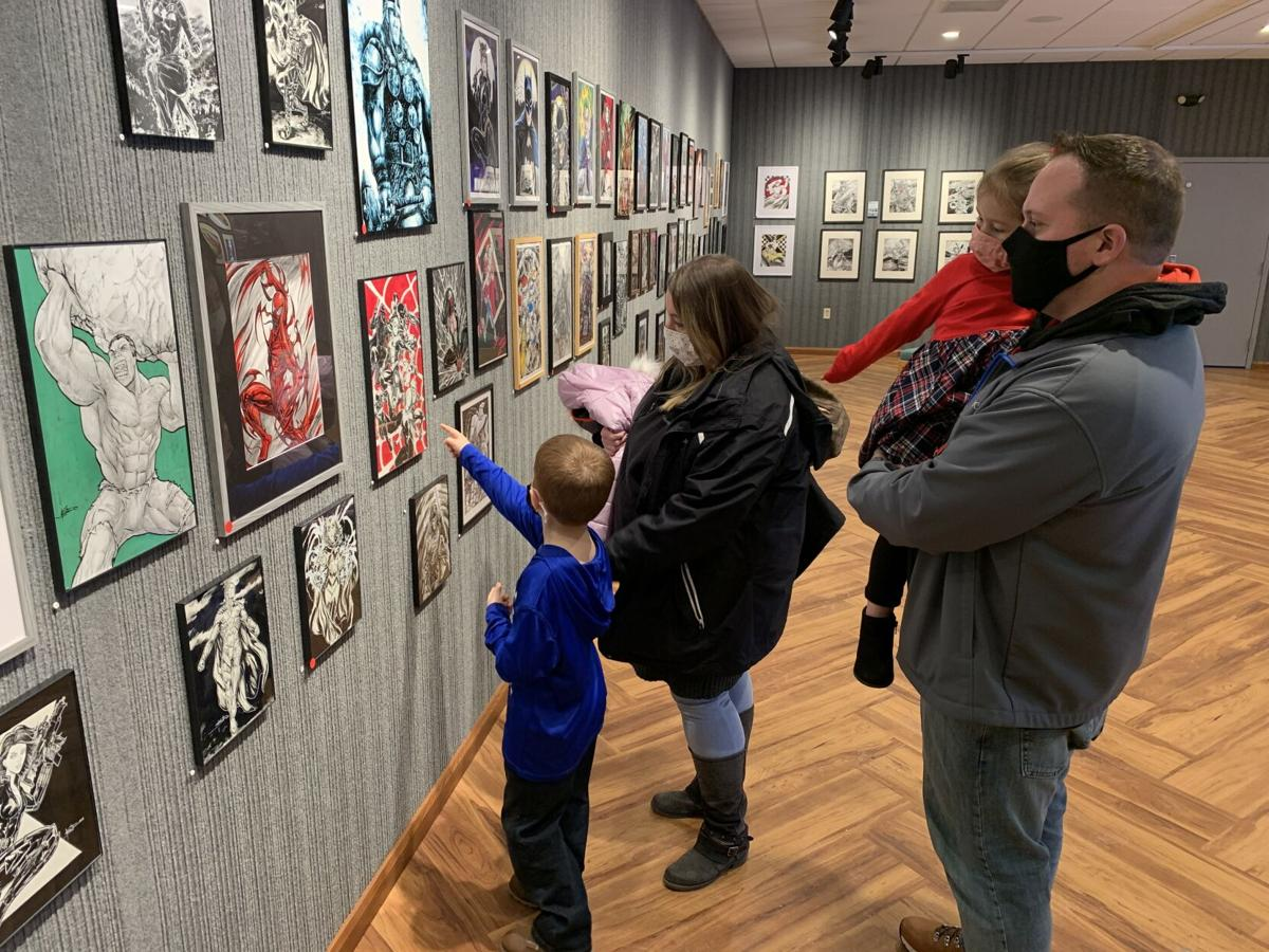 "Koa Beam ""Heroes and Villains"" exhibit"