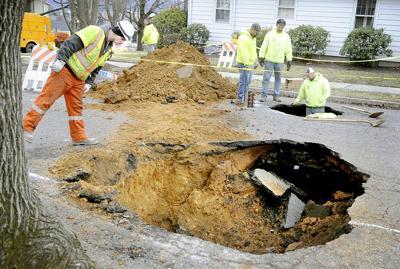 Sinkhole-Gas-Leak