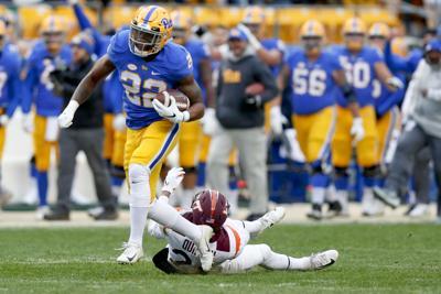 Pitt Football Panthers Run Through Past Over Virginia Tech Pennsylvania Tribdem Com
