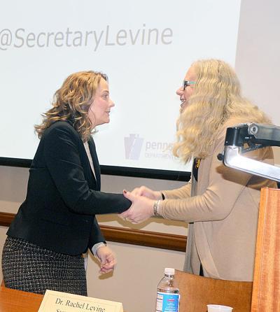 Ronna Yablonsky and Rachel Levine