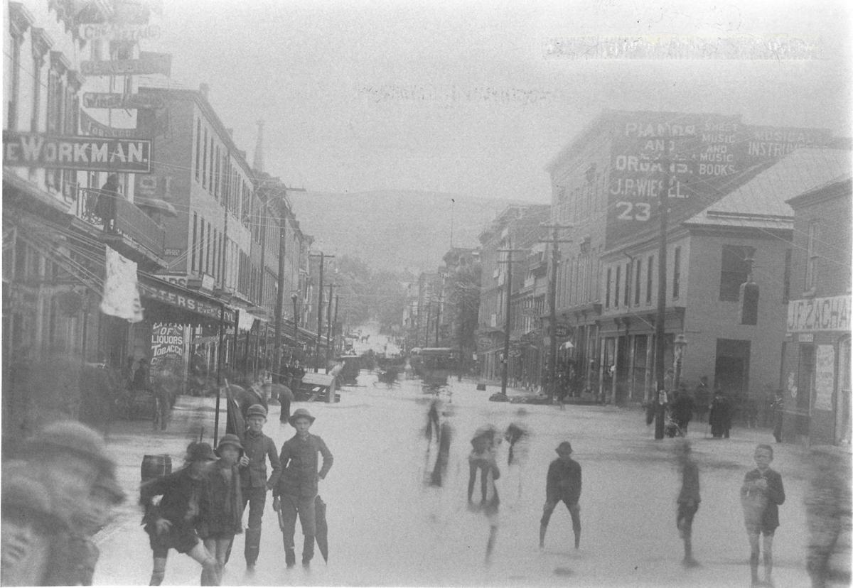 Cumberland flooding 1889