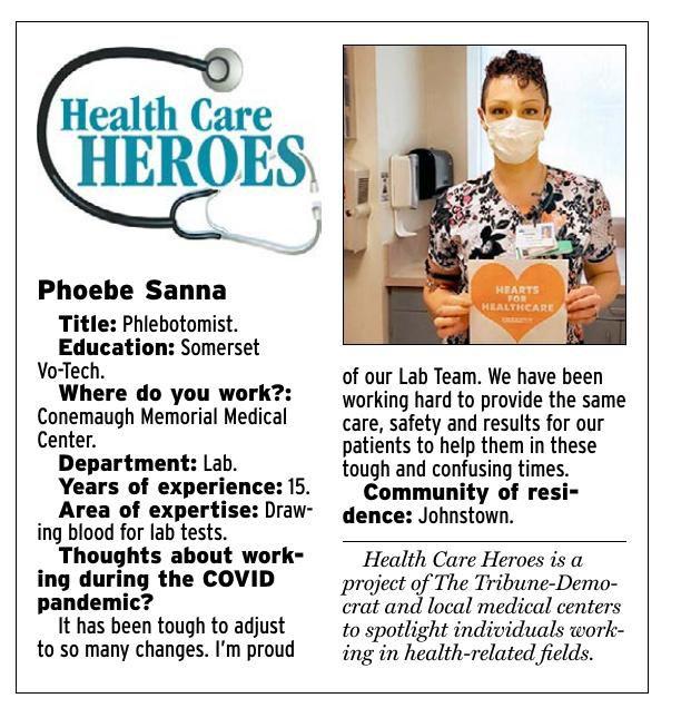 Health Care Heroes | Phoebe Sanna
