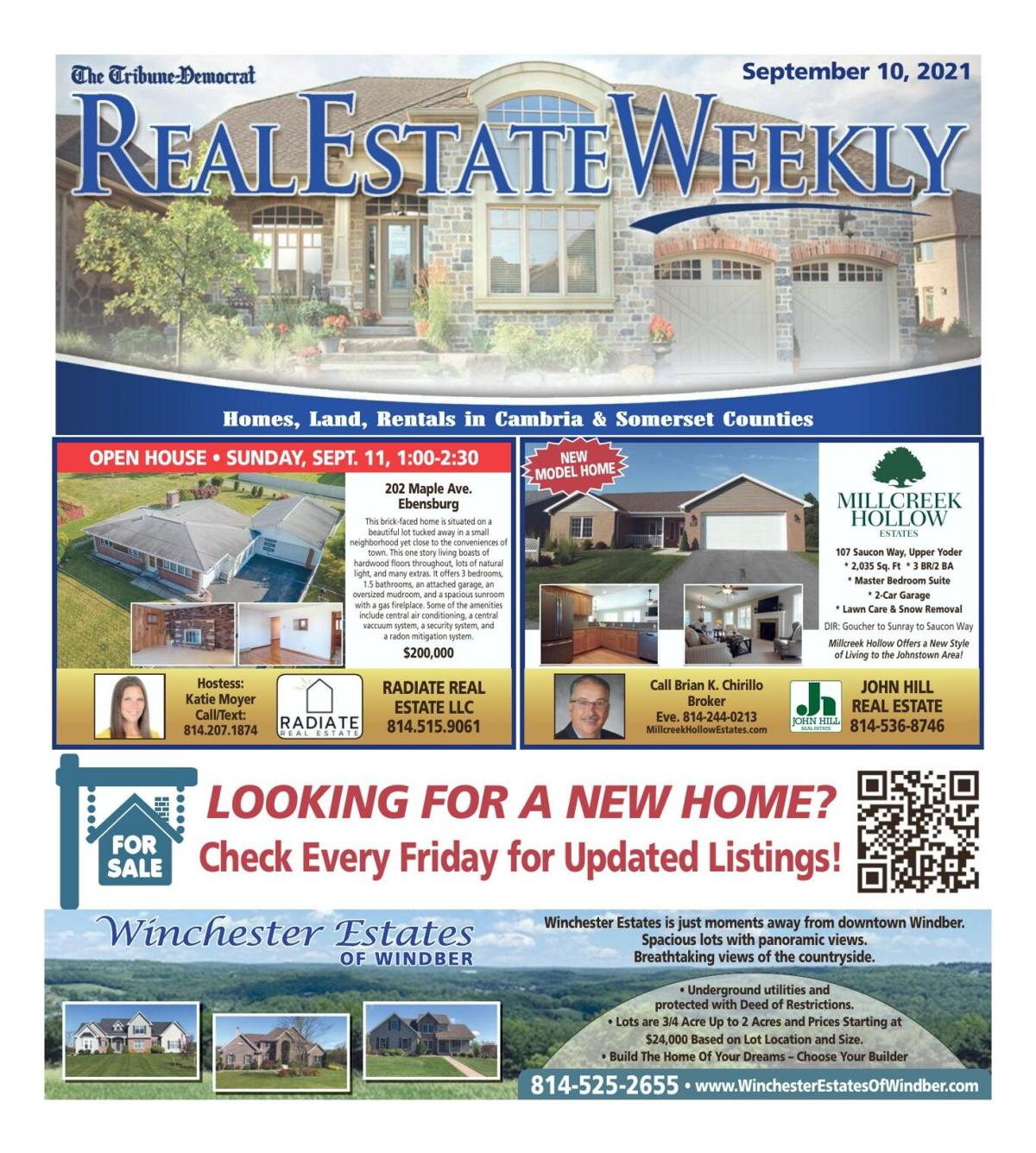 Real Estate Weekly September 10th, 2021