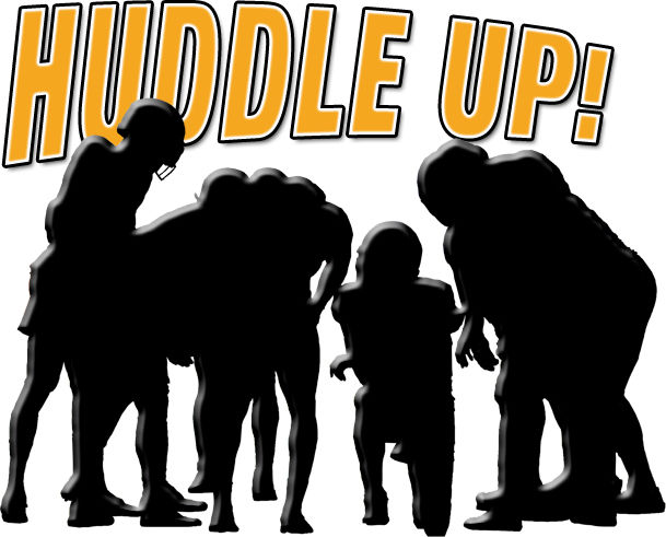 Huddle Up! Logo
