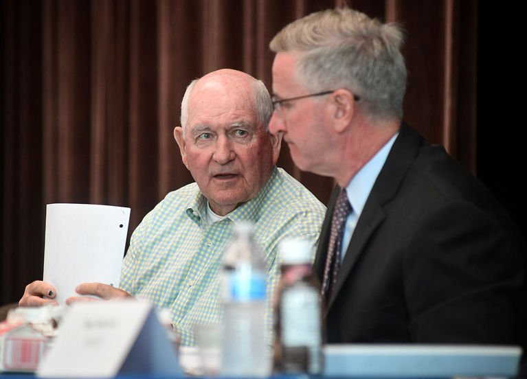 Sonny Perdue Russell Redding dairy summit