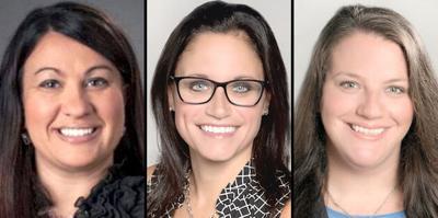 Melissa Komar, Melissa Radovanic and Renee Daly