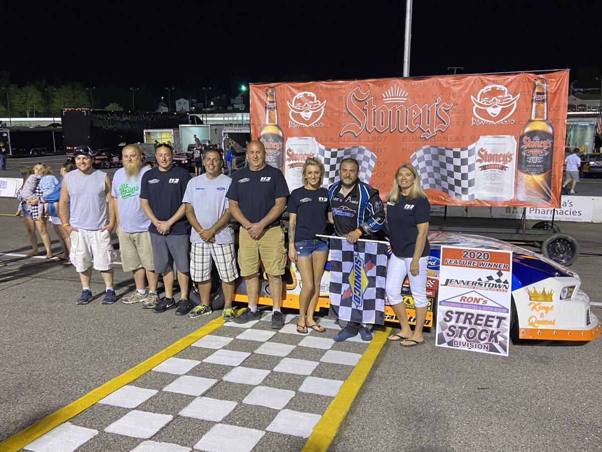Casey Fleegle at Jennerstown Speedway