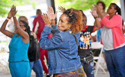 Juneteenth dancing
