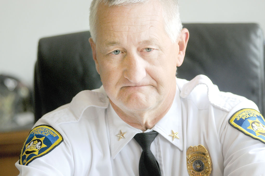 Johnstown police Chief Craig Foust