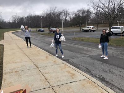 Mount Aloysius food donation