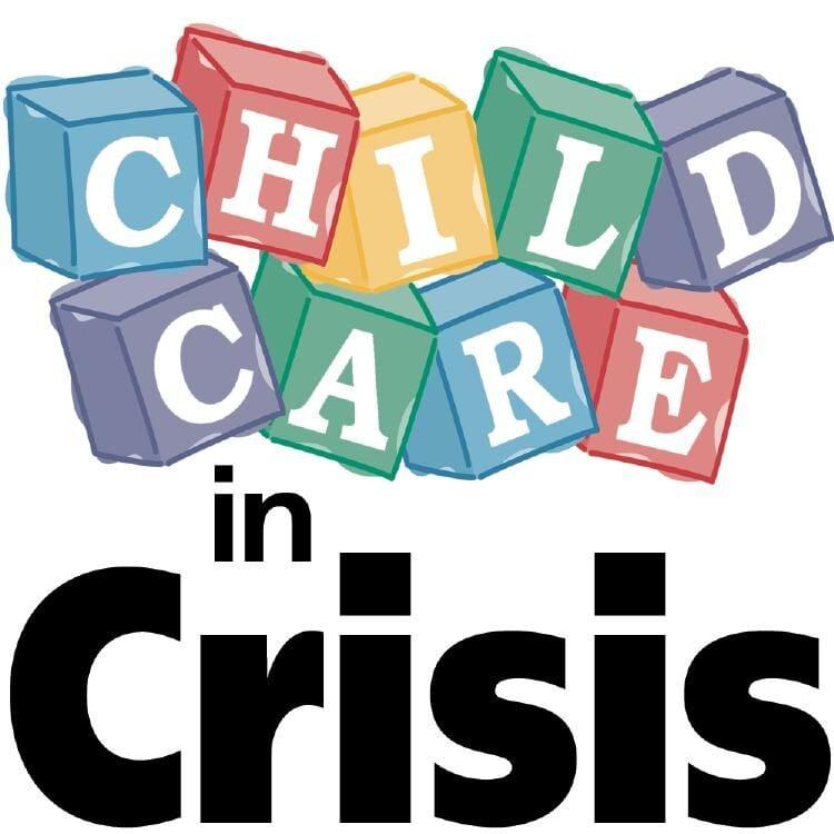 CHILD CARE IN CRISIS logo