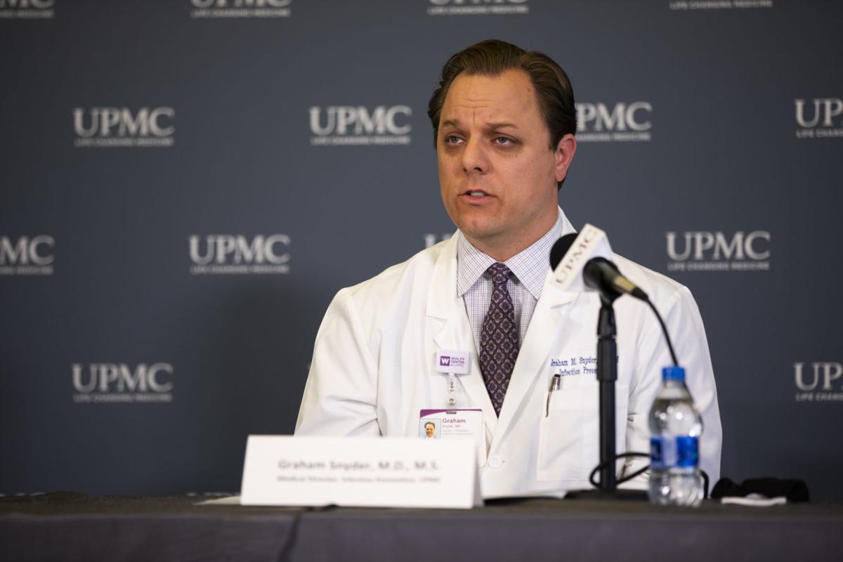 Dr. Graham Snyder UPMC