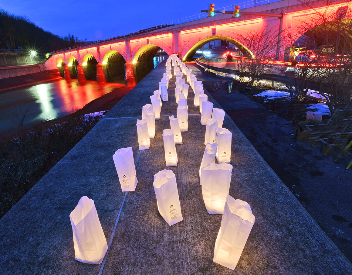 Lights of Remembrance luminaries