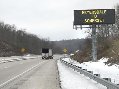After decades of pushing, Route 219 extension opens in Somerset County