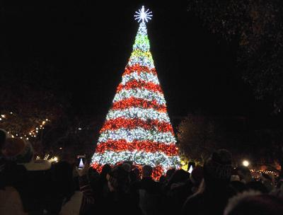 spectacular christmas lights display