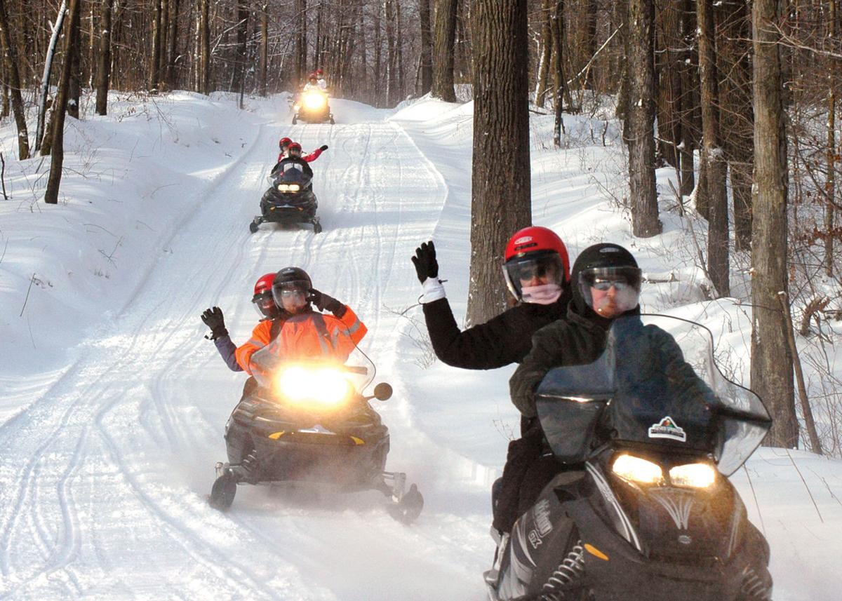 Snowmobiling in the Laurel Highlands