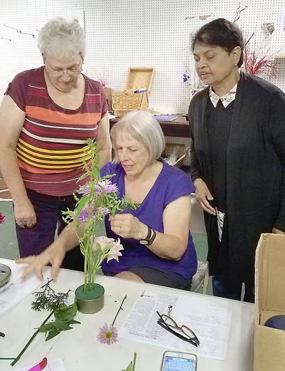 Garden Club of Johnstown flower show