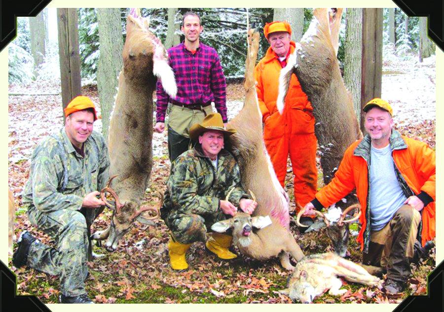 Deer camp naked guys