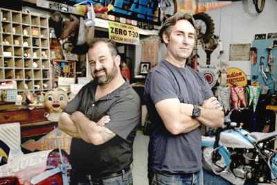 """Mike Wolfe and Frank Fritz """"American Pickers"""""""