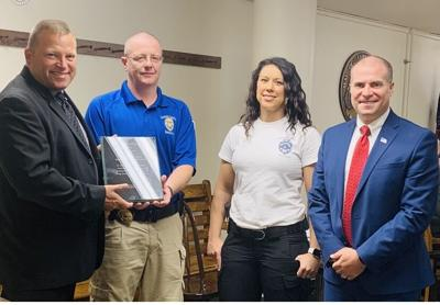 County task force receives award