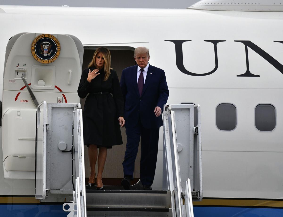 Trump @ Airport