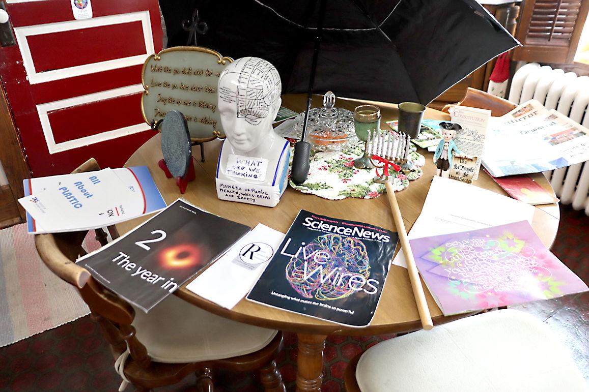 Etta Albright's display