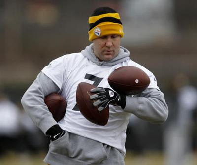 b56148984 Roethlisberger hoping to play up to Brady s  gold standard