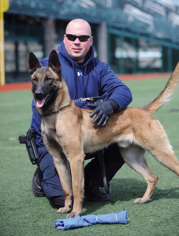 Johnstown K-9 officer