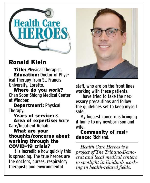Health Care Heroes | Ronald Klein