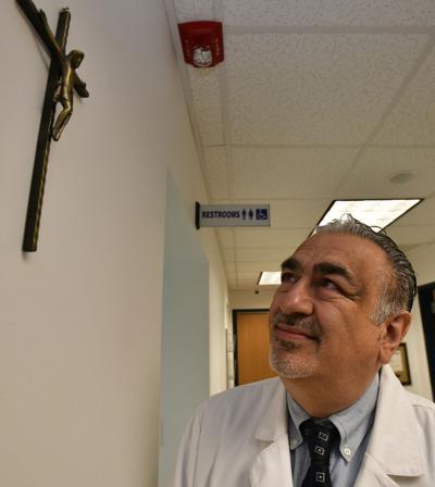 Dr. George Frem Crucifix